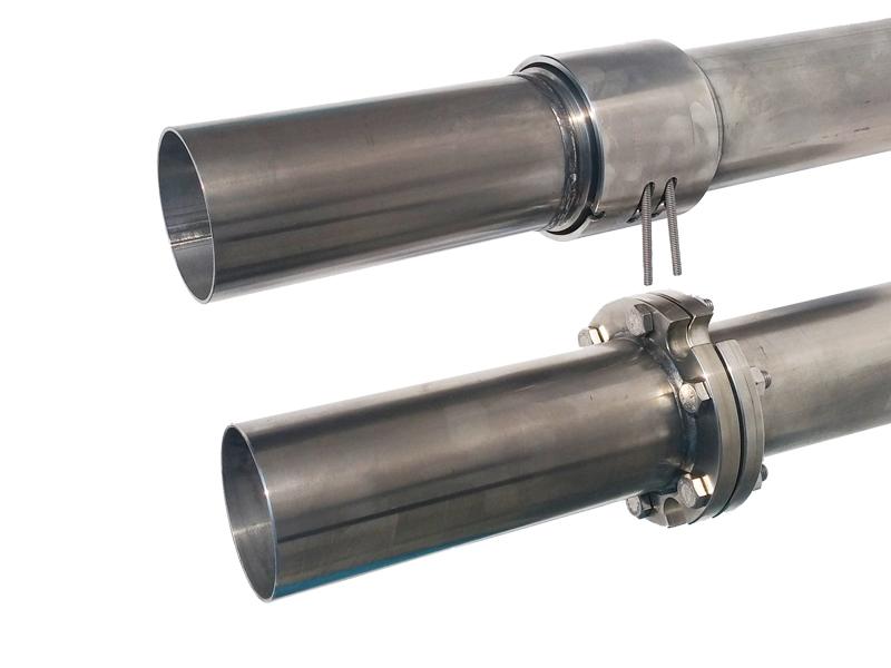 Colonne di mandata per pompe sommerse in acciaio
