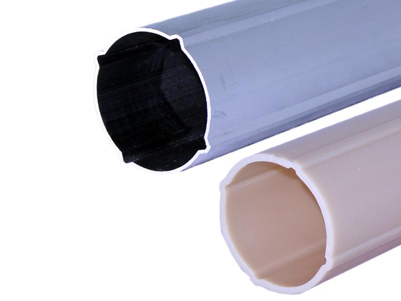 Tubes inclinométriques en ABS et aluminium